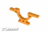 T4 ALU FRONT/REAR LOWER ADJUSTMENT BULKHEAD - ORANGE