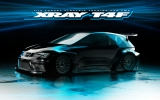 COMBO - XRAY T4F 1/10 Luxury FWD Touring Car Kit + REDS 17,5T motor + PF EUROPA body