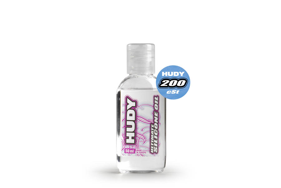 HUDY ULTIMATE SILICONE OIL 200 cSt - 50ML