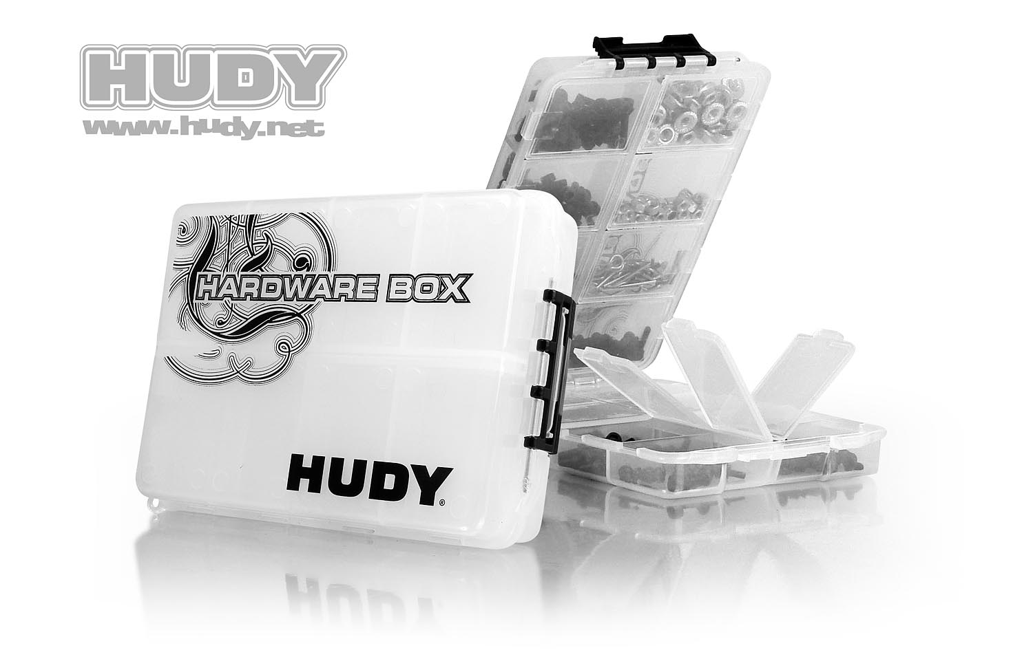 HUDY HARDWARE BOX - DOUBLE-SIDED