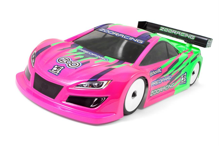 ZooRacing PreoPard 1:10 Touring Car Clear Body - 0.5mm LIGHTWEIGHT