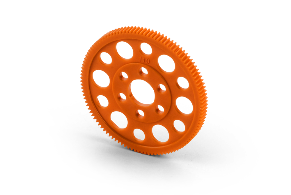 OFFSET SPUR GEAR 110T / 64 - orange