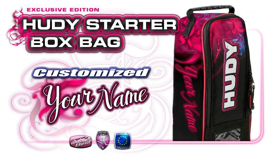 HUDY STARTER BAG - EXCLUSIVE EDITION - CUSTOM NAME