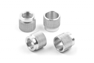 ALU NUT FOR 1/8 OFF-ROD SYSTEM (4)