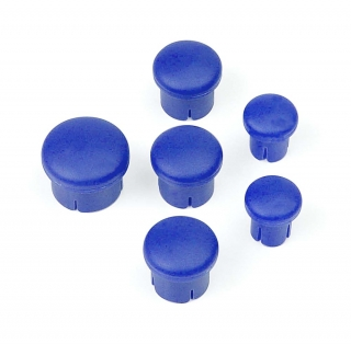 PLASTIC CAP FOR HANDLE ( SET -  3+2+1) BLUE