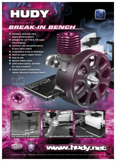 HUDY SHOP PROMO PANEL BREAK IN BENCH