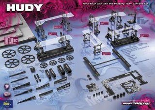 HUDY SHOP PROMO PANEL SET-UP TOOLS