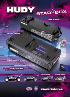 HUDY SHOP PROMO PANEL ON-ROAD & OFF-ROAD STAR BOX