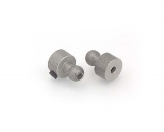 ALU BALL END 4.9MM  (2)