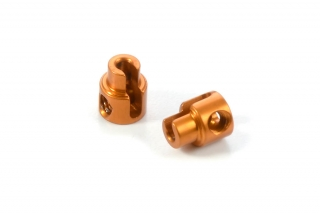 ALU ANTI-ROLL BAR BUSHING - ORANGE (2)