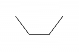 ANTI-ROLL BAR FOR BALL-BEARINGS - REAR 1.3 MM