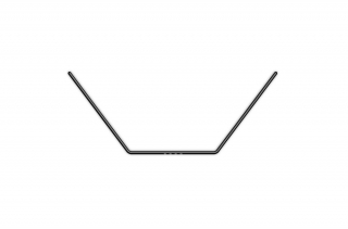 ANTI-ROLL BAR FOR BALL-BEARINGS - REAR 1.4 MM