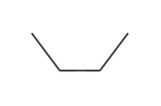 ANTI-ROLL BAR FOR BALL-BEARINGS - REAR 1.5 MM