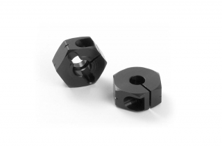 "ALU WHEEL HUB - OFFSET ""+0.75MM"" - BLACK (2)"
