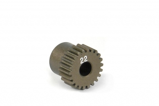NARROW ALU PINION GEAR - HARD COATED 22T / 64