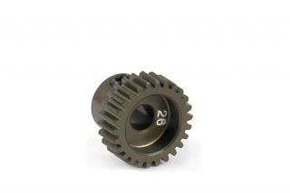 NARROW ALU PINION GEAR - HARD COATED 26T / 64
