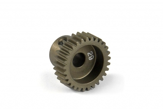 NARROW ALU PINION GEAR - HARD COATED 29T / 64
