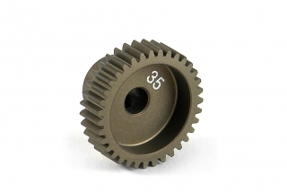 NARROW ALU PINION GEAR - HARD COATED 35T / 64