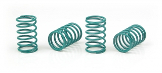 XRAY SPRING-SET D=1.5 (15 LB) BLUE-GREEN  (4)