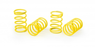 XRAY SPRING-SET D=1.4 (14 LB) YELLOW - SUPER-SOFT  (4)