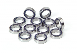 HIGH-SPEED BALL-BEARING 10 x 15 x 4 BLUE COVERED (12)