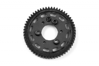 GRAPHITE 2-SPEED GEAR 57T (1st)