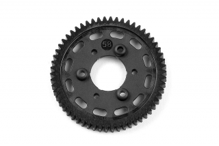 GRAPHITE 2-SPEED GEAR 58T (1st)