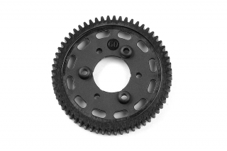 GRAPHITE 2-SPEED GEAR 60T (1st)