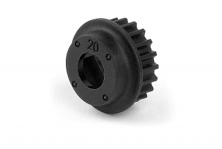 COMPOSITE BELT PULLEY 20T - 2-SPEED-CENTER
