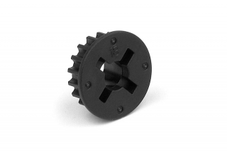 COMPOSITE BELT PULLEY 18T - 2-SPEED-SIDE