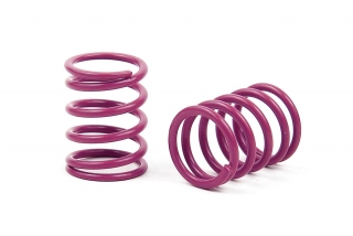 XRAY SPRING-SET D=1.8 (35.5 LB) PURPLE - MEDIUM-HARD - FRONT (2)