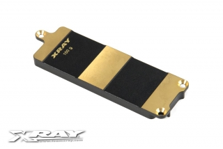BRASS BATTERY PLATE FOR LIPO BATTERIES - 100g