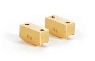 BRASS REAR UPRIGHT WEIGHT 15G (2)