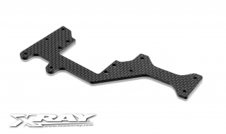 XB808 GRAPHITE RADIO PLATE FOR LONG CHASSIS