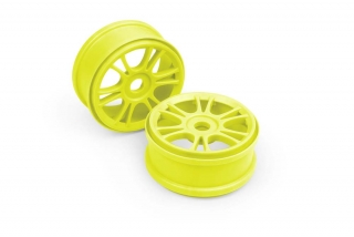 WHEELS STARBURST - YELLOW (4)