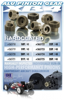 ALU PINION GEAR - HARD COATED 25T / 48
