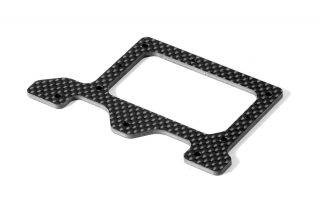 X10'16 GRAPHITE 2.5MM REAR POD LOWER PLATE