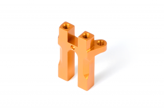 X1'16 ALU SERVO MOUNT - ORANGE