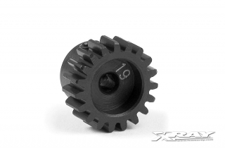STEEL PINION GEAR 19T / 48