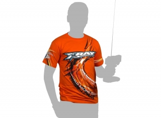 XRAY TEAM T-SHIRT - ORANGE (XL)