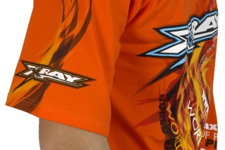 XRAY TEAM T-SHIRT - ORANGE (XXXL)