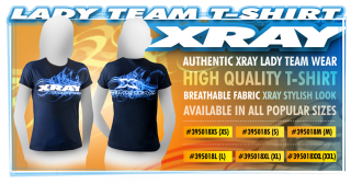 XRAY LADY TEAM T-SHIRT (XS)