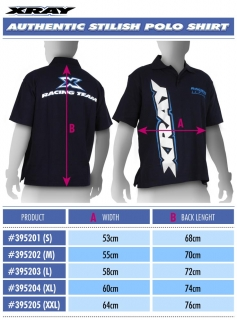 XRAY AUTHENTIC STYLISH POLO SHIRT  (XXL)