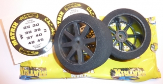 Matrix Front Touring Car 1/10 Mounted on AIR Carbon Rims (37 Shore)