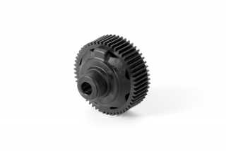 COMPOSITE GEAR DIFFERENTIAL CASE WITH PULLEY 53T - Graphite