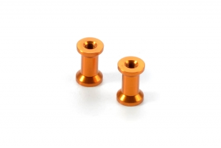 ALU MOUNT 18.0MM - ORANGE (2)