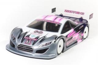 ZooRacing DogsBollox - 1:10 Touring Car Body - 0.7mm REGULAR
