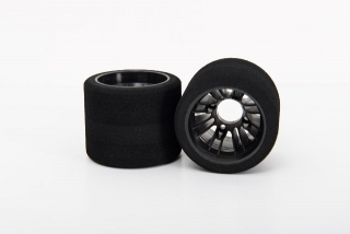 X-GRIP Foam Rear Tires for pan Car 1/10 - shore 32