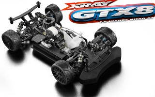 XRAY GTX8 1/8 RACING LUXURY ON ROAD CAR GT