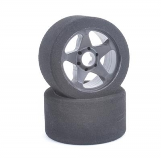 Contact RC Foam Tyres - 5 Spoke Rim 1/8 Front 32Sh